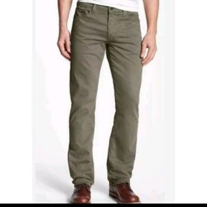 Adriano Goldschmied The Protege Army Green Jeans